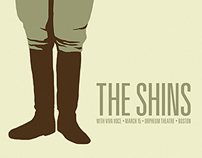 The Shins Concert Posters