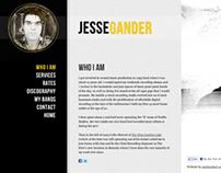 Jesse Gander Website