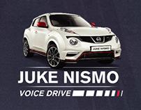 Nissan Juke-Nismo Voice Drive