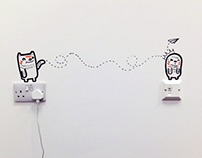 Digital Hub Murals