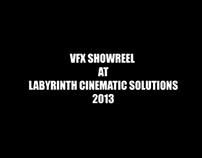 My VFX Showreel at Labyrinth Cinematic Solutions