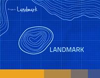 Landmark. Logo.