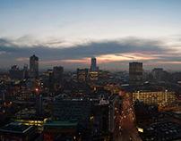Dusk Over Manchester