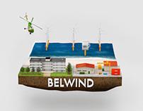 Belwind visualisation