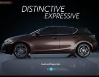 Lexus iPad App