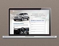 Hyundai Landing page