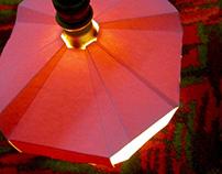 """UFO"" lamp"