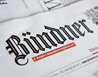 FF Franziska In-Use: Bündner Tagblatt