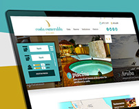 Costa Esmeralda (Aruba village) Website design