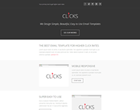 Clicks, Responsive Email Marketing Template