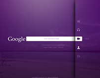 Google Redesign Concept