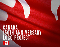 Canada 150th Anniversary Logo Project