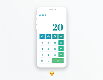 Daily Ui 004-Calculator