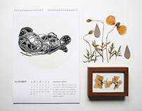 12 mOOns /  Bug's Association _ CALENDARS