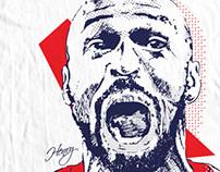 Soccer Tees 03 - Pen Illustrations
