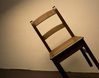 Chairs. Conceptual photography