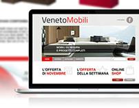 Web Design | Veneto Mobili
