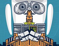 Directive, a WALL-E Screen Print