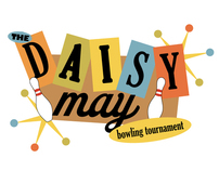 Daisy May Bowling Tournamnet Logo and Web Concepts