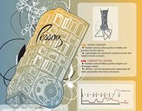Pessoa - Packaging & Flyer Design