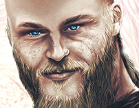 VIKINGS Digital painting