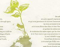 Nouveaux Paysages letterpress broadside