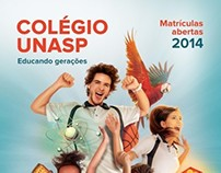 Campanha de Matrículas de 2014 - Colégio Unasp