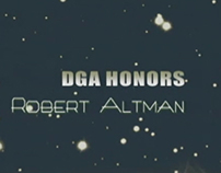 DGA Honors 2004 Robert Altman