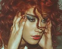 Curly glitterness