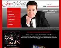 Web Design for Magician Joe Monti