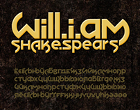 Will.i.am Shake.Spears: A free font/typeface