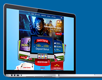 Concept Redesign of Euroslot Casino HomePage