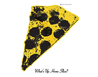 Home Slice Pizza: Album Menu Covers