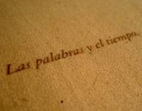 ◊ las palabras y el tiempo