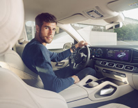 Karen Khachanov & new Mercedes-Benz GLE