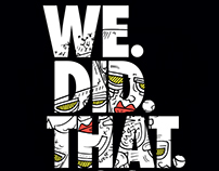 BPM - WE DID THAT #001 - Mixtape Cover