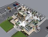 Innovative Hospital 3d Floor Plan Design Ideas