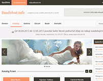 Svadobne.info (Wedding website design)