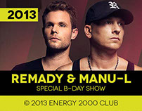 Remady & Manu-l at Energy 2000 Club // Special B-Day