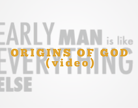 Douglas Adams: Origins of God - Motion Type