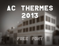 AC Thermes (Free Font)