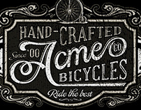 "Acme ""Bicycle"" Co."
