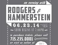 Rodgers & Hammerstein Poster