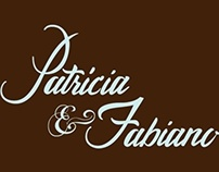 Patricia & Fabiano wedding invite