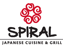 Spiral Japanese Cuisine & Grill rebranding project