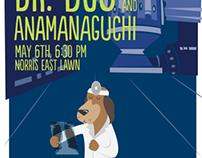 Dr. Dog Concert Poster (2012)
