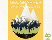 Geographer Concert Poster Design (2013)