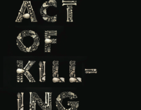 """Act of Killing"" Movie Poster (2013)"