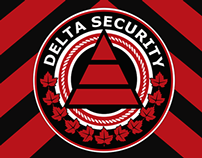 Delta Security Logo/Badge Design