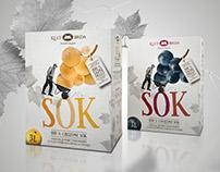 KLET BRDA | Grape juice, packaging design, photo